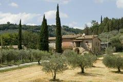 Casa italiana tradicional foto de archivo
