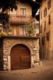 Casa italiana vieja Imagenes de archivo