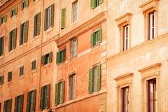 Casa italiana vieja tradicional Foto de archivo libre de regalías