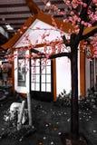 Casa japonesa fotografía de archivo libre de regalías