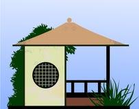 Casa japonesa Imagem de Stock Royalty Free