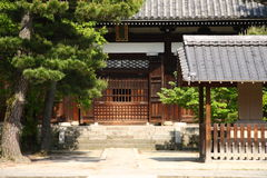Casa japonesa tradicional Imágenes de archivo libres de regalías
