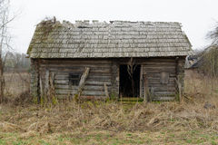 A casa jogada Imagens de Stock Royalty Free