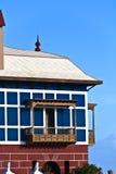 Casa Juanita or The Blue House in Arrieta Stock Image