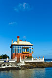 Casa Juanita or The Blue House in Arrieta Royalty Free Stock Photo