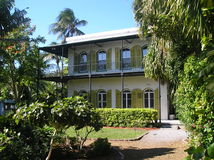 Casa Key West di Hemingway immagine stock