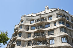 Casa La Pedrera Royalty Free Stock Photo