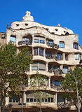 Casa la Pedrera In Barcelona Stock Images