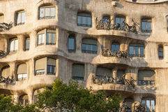 Casa La Pedrera Royalty Free Stock Images