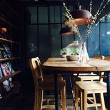 Casa Lapin-Café Lizenzfreies Stockfoto