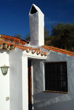 Casa lavata bianca Immagine Stock