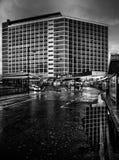 Casa Leeds 2014 de la ciudad fotografía de archivo