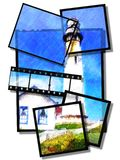 Casa ligera Foto de archivo