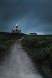 Casa ligera de Cabo Agulhas Fotografía de archivo libre de regalías