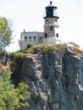 Casa ligera de la roca partida Imágenes de archivo libres de regalías