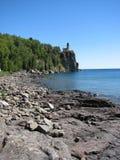 Casa ligera de la roca partida Fotografía de archivo libre de regalías
