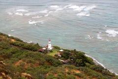 Casa ligera en Diamond Head Honolulu fotos de archivo