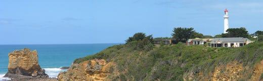 Casa ligera en roca Fotos de archivo libres de regalías