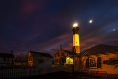 Casa ligera en Tybee Island imagen de archivo