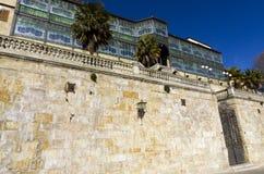 Casa Lis. Exterior of the Art Nouveau and Art Deco Museum. Casa Lis. Salamanca, Spain Stock Photography