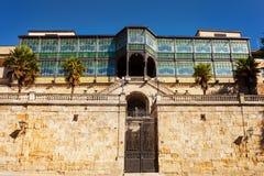 Casa Lis. Art Nouveau and Art Deco Museum. Salamanca , Spain. The old city of Salamanca was declared a UNESCO World Heritage site in 1988 stock photos
