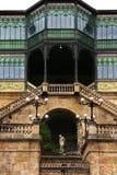 Casa Lis - Art Nouveau Museum Salamanca. The modernist palace Casa Lis, in Salamanca, houses the Museum of Art Nouveau and Art Déco it holds 19 collections of stock images