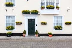 Casa litoral no negócio, Kent Foto de Stock Royalty Free