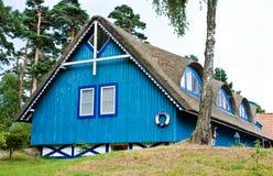 Casa lituana típica Foto de archivo