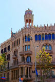 Casa Lleo Morera στην περιοχή Eixample της Βαρκελώνης Στοκ Εικόνα