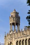 Casa Lleo Morera - το αρχαίο κτήριο στη Βαρκελώνη Στοκ Εικόνες