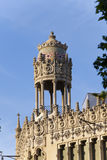 Casa Lleo Morera - the ancient building in Barcelona Stock Photo