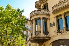 Casa Lleo Morera in Barcelona Royalty Free Stock Image
