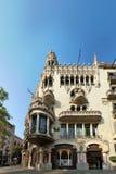 Casa Lleo Morera w Barcelona Zdjęcie Stock