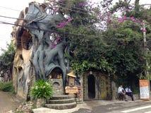 Casa loca, Dalat, Vietnam Imagen de archivo libre de regalías