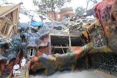 Casa loca en el lat de DA, Vietnam fotos de archivo