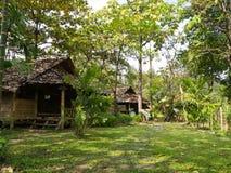 Casa local tailandesa Fotografía de archivo