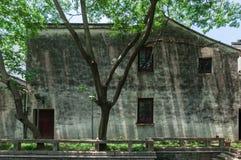 Casa locale dal canale a Suzhou Immagini Stock Libere da Diritti