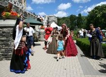 Casa Loma's Renaissance Festival Stock Photos