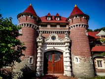 Casa Loma και βασιλικό Mews σταύλων Στοκ φωτογραφίες με δικαίωμα ελεύθερης χρήσης