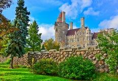 Casa Loma στο Τορόντο το φθινόπωρο Στοκ Εικόνες