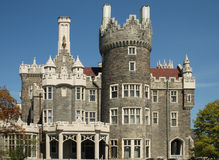 Casa Loma - Castle in Toronto Stock Image