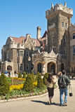 Casa Loma castle in Toronto, Canada Royalty Free Stock Photos