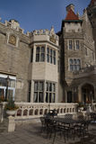 Casa Loma, castle in Toronto, Canada. Royalty Free Stock Images