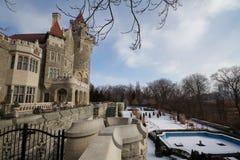 Casa Loma, castle in Toronto, Canada. Stock Photography