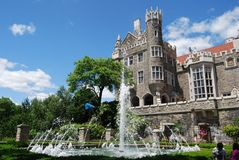 Casa Loma Garden Stock Photography