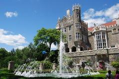 Casa Loma Garden. In Toronto, Canada Stock Photography
