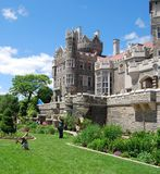 Casa Loma Garden in Toronto, Canada Stock Photo