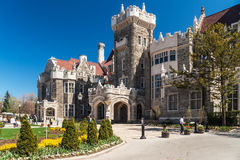 Casa Loma, one of Toronto's top ten tourist attractions Stock Images