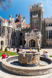 Casa Loma, one of Toronto's top ten tourist attractions Stock Image
