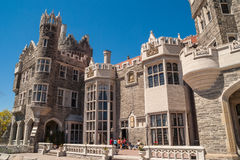 Casa Loma, one of Toronto's top ten tourist attractions Royalty Free Stock Photos